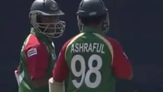 Mohammad Ashraful 61 off 27 balls   Ban v WI 2007 T20 World Cup HD