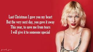 Last Christmas Taylor Swift