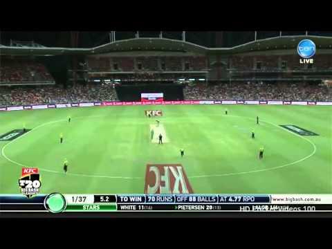 Kevin Pietersen 67 vs Sydney Thunder l BBL 2015 HD