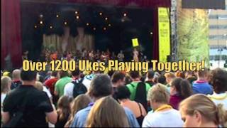 Lucky Uke - Guinness World Record Montreal.mov