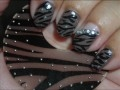 Nail Art -Zebra- Diseño de Uñas (Animal Print Series #3)