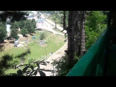 Deck of Sunflower Resorts, Pahalgam, Kashmir - India