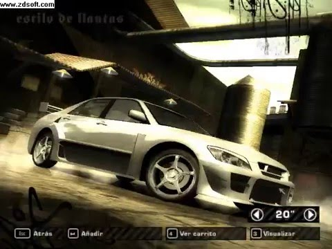 Need for Speed Most Wanted todo desbloqueado