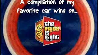 A Compilation of My Favorite Car Wins on the Price is Right