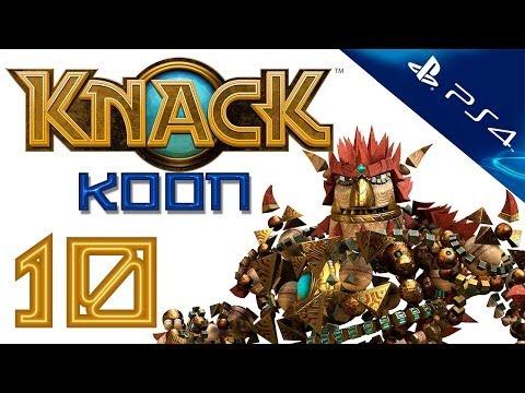 Knack - Прохождение игры на русском - Кооператив [#10] PS4 (Нэк)
