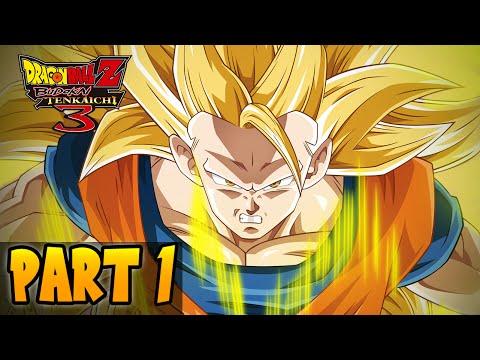 DragonBall Z Budokai Tenkaichi 3 - Part 1 (DBZ Xenoverse 2015 Training)