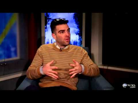 Zachary Quinto On 'Coming Out': 'I Just Did It'