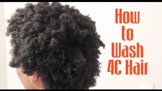 HAIR BASICS| How to easily wash your Natural Hair