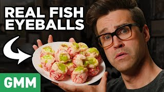 Rick and Morty Cartoon Food Taste Test by : Good Mythical Morning