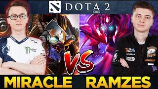 Miracle Tinker (Rank 13) vs RAMZES666 Spectre (Rank 4) - Unfair Counterpick Dota 2