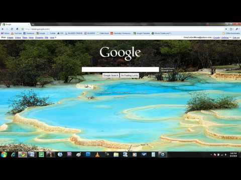 How To Change Google's Background