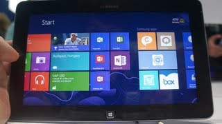 Windows 8 RT hands on