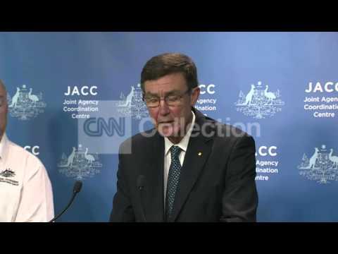 AUSTRALIA: MH370 - OIL SLICK FOUND