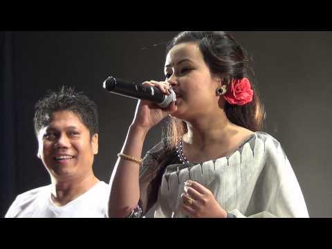 Manipuri Song ''karigi Nangna Eibu Asuk Wahalliba'' Ranbir & Pushparani - Live video