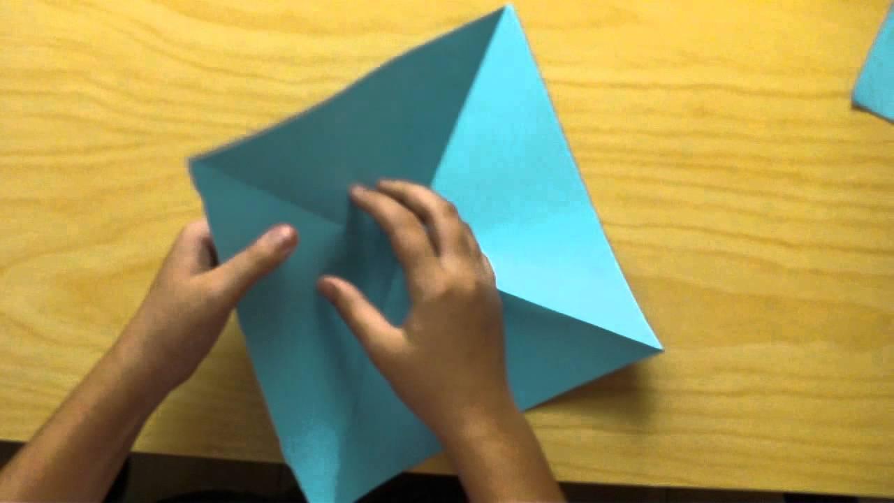 Como hacer un caja estrella de papel youtube - Origami de una estrella ...
