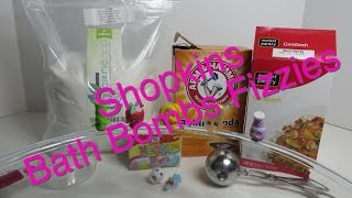 How To Make Bath Bombs Fizzies With Shopkins Or Other Toys Inside