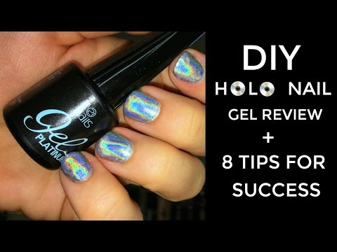 DIY Holo Nail Powder Review + 8 Tips for Holographic Success   Bailey B.