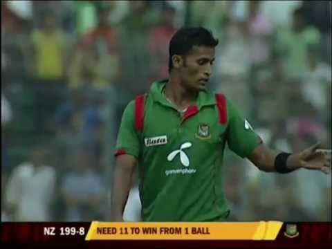 Bangladesh Cricket: Final 3 Overs, BD vs NZ ODI 1, Oct 5, 2010