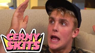 JAKE PAUL FLIPS OUT - CERNY SKITS