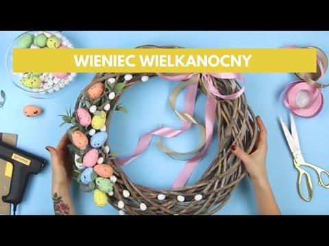 Jak Zrobić Wieniec Wielkanocny Na Drzwi? Zobacz Szybki Sposób Na Efektowną Dekorację DIY!
