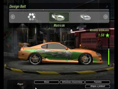 Need For Speed - Underground 2: How To Make FnF Supra (No Mod!) Music Videos