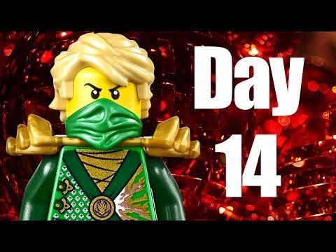 Custom LEGO Ninjago Advent Calendar 2013 Day 14 Review