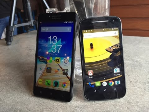 Lenovo A6000 VS Moto E 2nd Gen Comparison, Features, Camera, Price and Value for Money