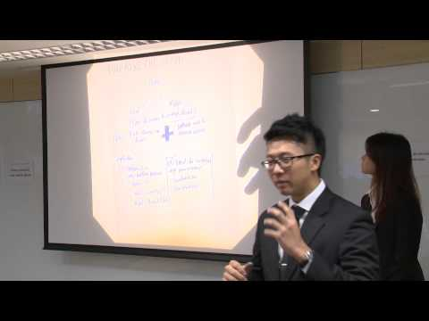 HSBC Asia Pacific Business Case Competition 2014   Round 1 E3   National University of Singapore