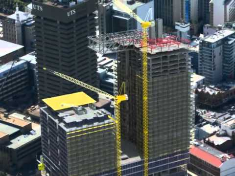 One Central Park construction animation, by Watpac