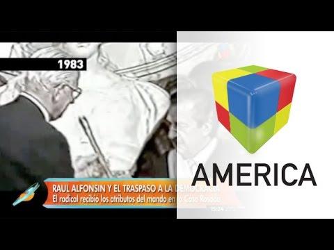 Jorge Rial evocó a Alfonsín en medio de la polémica por el traspaso presidencial