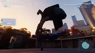 Marvel's Spider-Man PS4 challenge tokens 2099 suit run