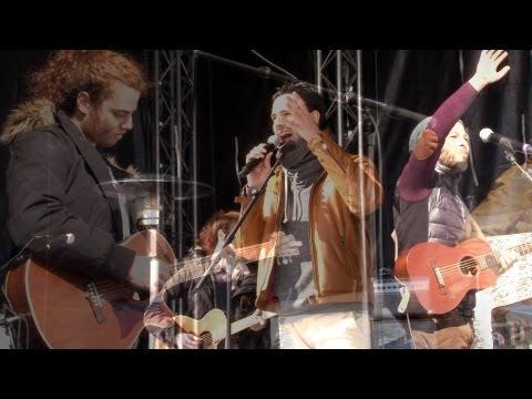 Christophe Maé à Châtel: les coulisses du concert pour le Festival Rock the Pistes 2013