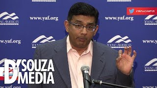 SO SATISFYING: D'Souza slams leftists—including professors—at Yale