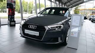 2018 New Audi A3 Sportback sport 1.0 TFSI Exterior and Interior