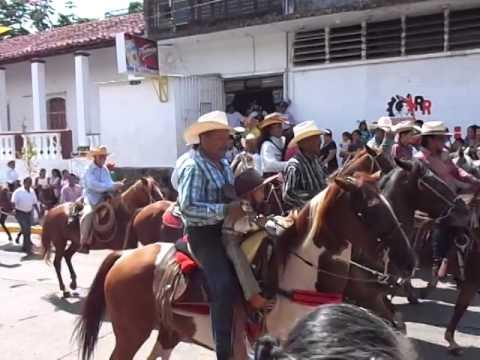 cabalgata de la procesión santiago apostol