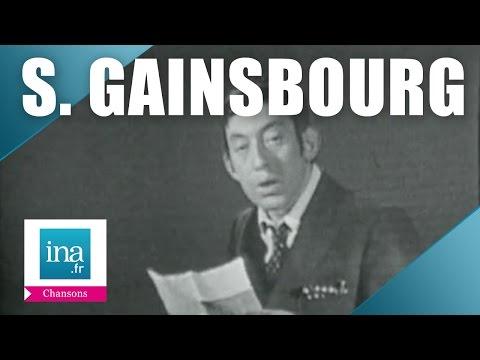 Serge Gainsbourg - En Relisant Ta Lettre