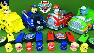 Paw Patrol Toys Remote Control Marshall Chase Rubble Vehicles Surprise Mashems Slime Toys Video