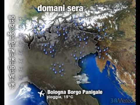 Meteo ITALIA del 24/10/2011