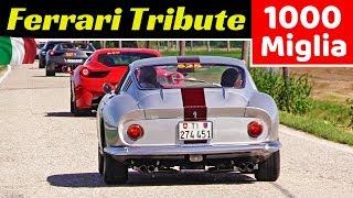 Ferrari Tribute to 1000 Miglia 2019 - 812 Superfast, LaFerrari, F40, 275 GTB4, 488 Pista & More!