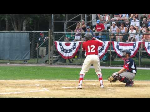 Phillip Ervin goes 4-for-4 in Cape Cod Baseball League 6.22.12