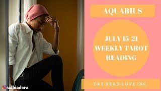 "AQUARIUS - ""THEY ARE COMING TO YOU FAST"" JULY 15-21 WEEKLY TAROT READING"