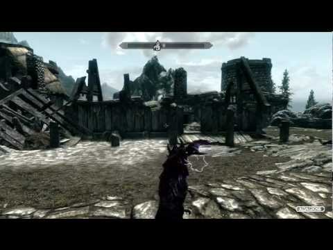 My Skyrim Character Level 81 Xbox 360 No Cheats Or