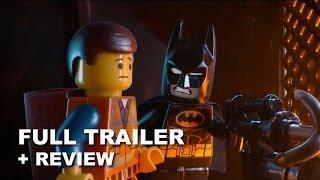 The Lego Movie 2014 Official Trailer 2 + Trailer Review : BATMAN!