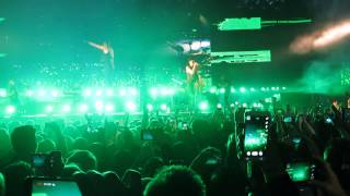 The Script - Paint The Town Green Cardiff 2-3-15