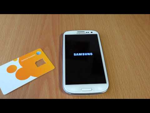 How to setup Samsung Galaxy s3 on At&t go phone prepaid plan