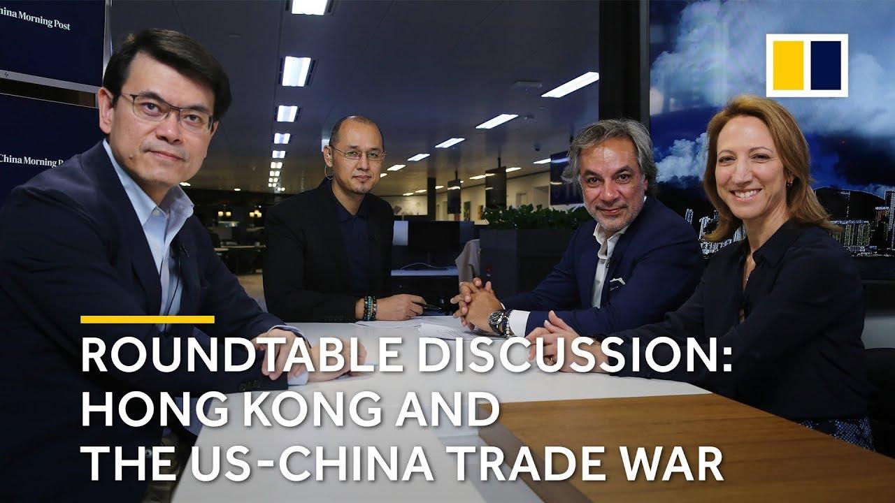 How the US-China trade war affects Hong Kong