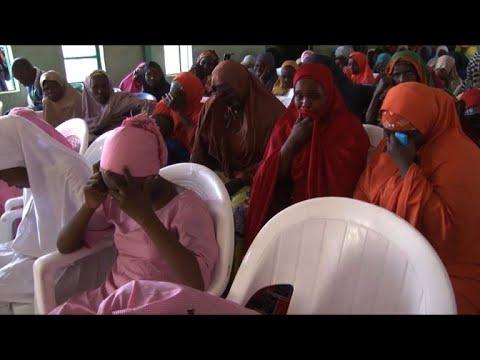 Nigeria's Buhari meets parents of kidnapped schoolgirls