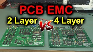 EEVblog #1176 - 2 Layer vs 4 Layer PCB EMC TESTED!