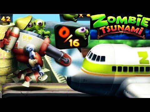Zombie Tsunami #64 Игровой мультик для детей про зомби, веселый детский мультик игра для малышей