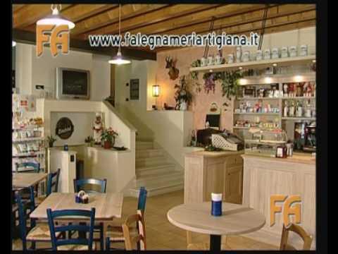 Falegnameria artigiana di cristiano favero arredamento for Taverna arredamento